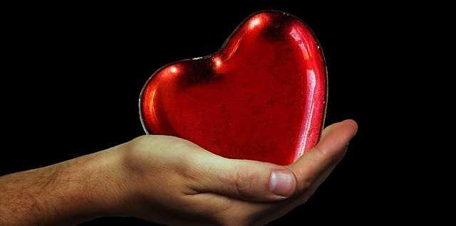 Сердце в руке