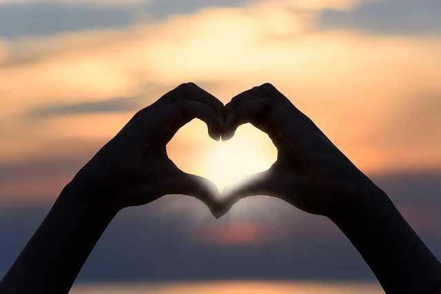 Сердце сделанное руками