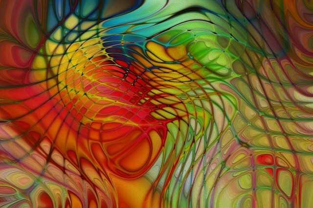 Разноцветная картина