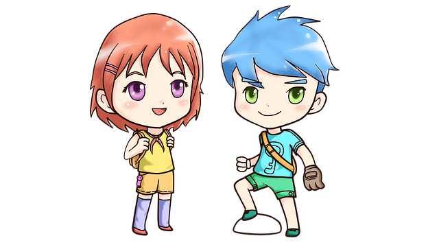 Японские мультяшки