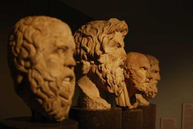 Скульптуры философов